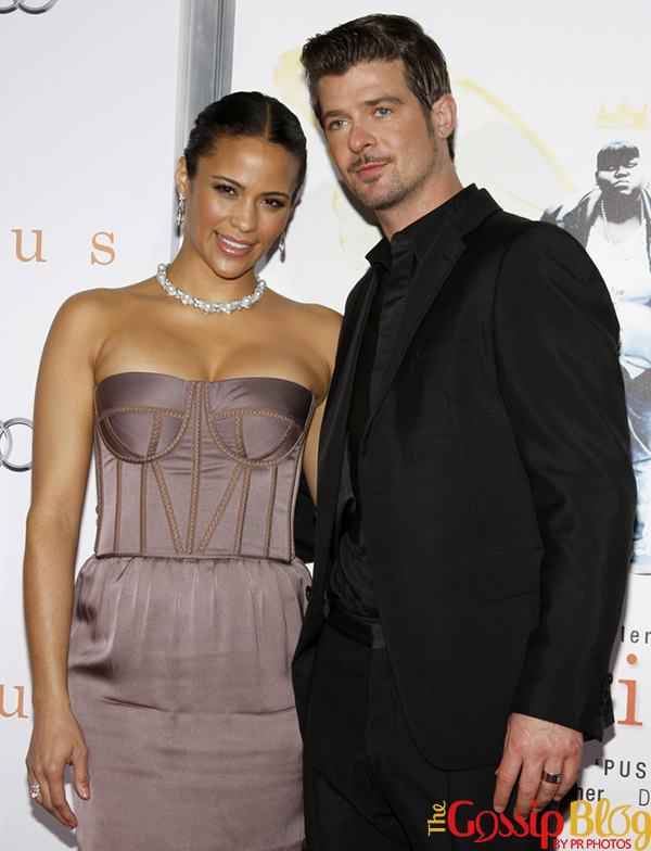 Paula Patton and Robin Thicke marriage over
