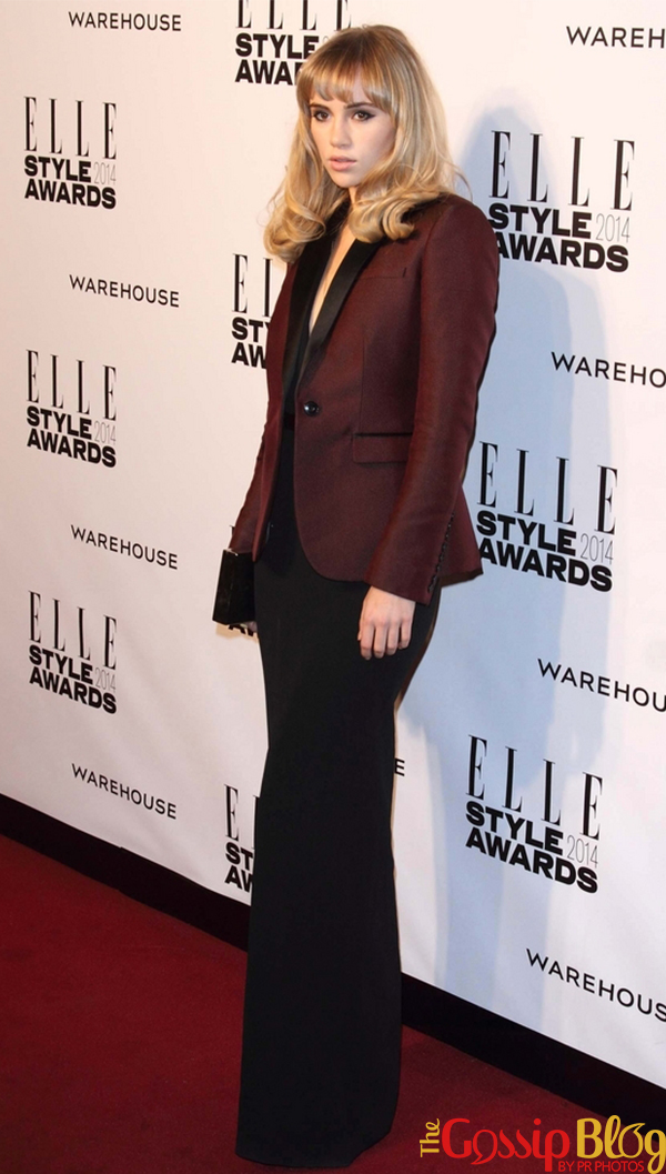 Suki Waterhouse at Elle Style Awards 2014