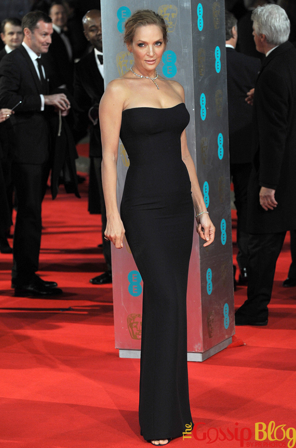 Uma Thurman 2014 BAFTA