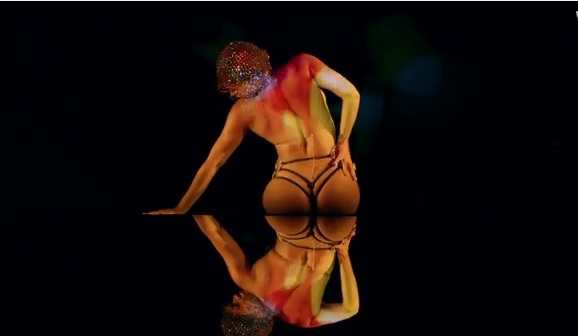 beyonce partition video thong