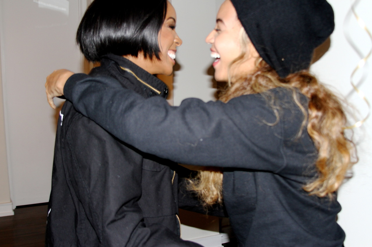 kelly and beyonce