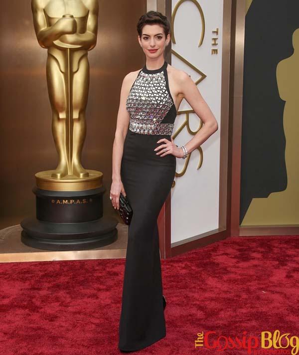Anne Hathaway, 2014 Academy Awards