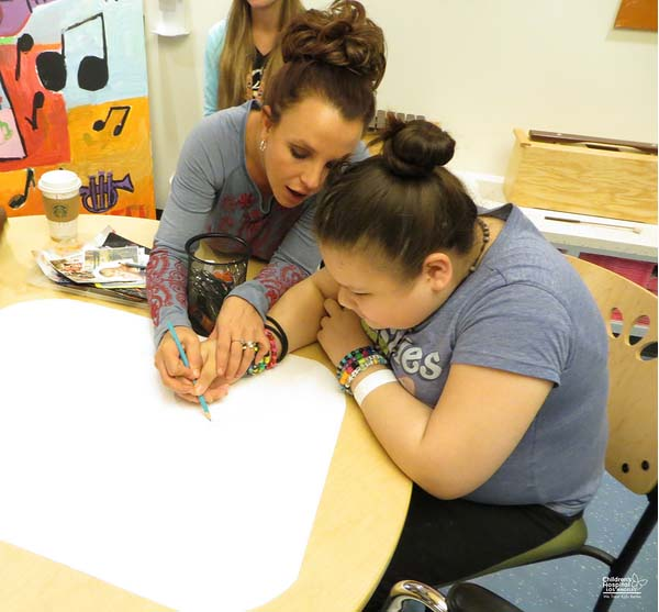 Britney Spears, Kids, Art Therapy