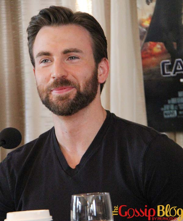 Chris Evans 'Captain America The Winter Soldier' Beverly Hills Press Conference