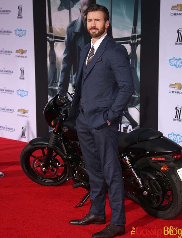 Chris Evans The Winter Soldier Los Angeles Premiere