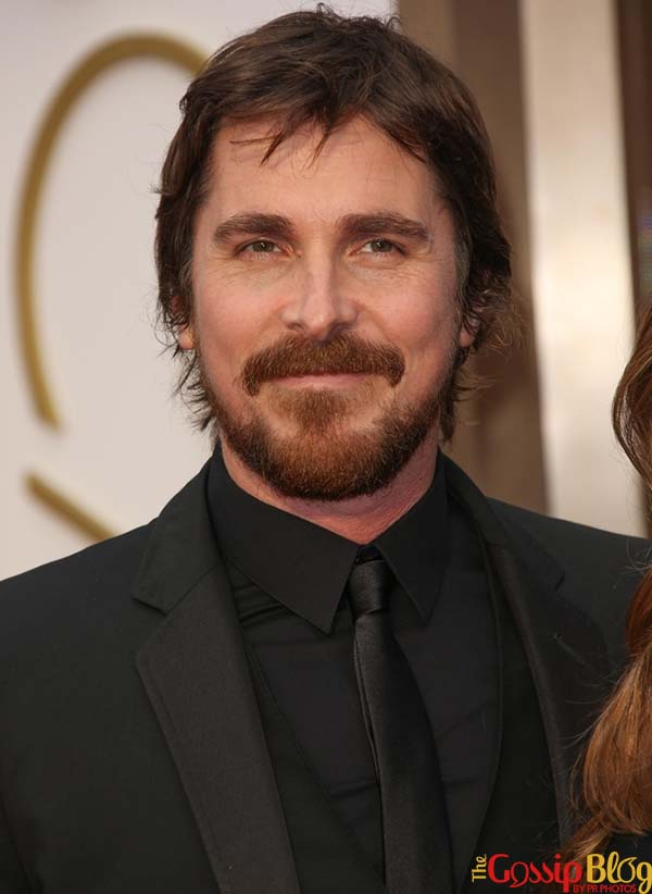 Christian Bale at 2014 Oscars