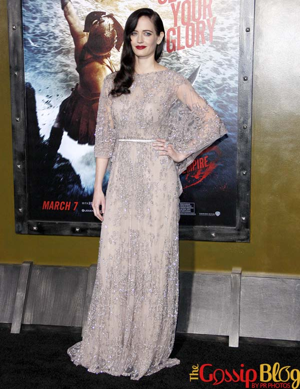 Eva Green 300 Rise of an Empire Los Angeles Premiere