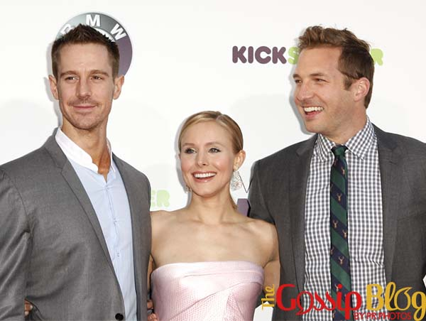 Jason Dohring, Kristen Bell and Ryan Hansen
