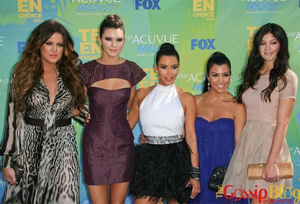 Khloe Kardashian, Kendall Jenner, Kim Kardashian, Kourtney Kardashian, Kylie Jenner