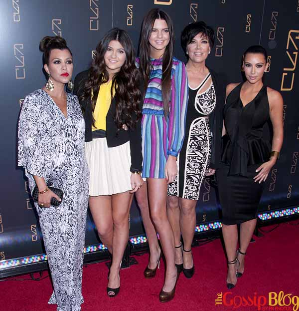 Kourtney Kardashian, Kylie Jenner, Kendall Jenner, Kris Jenner, Kim Kardashian