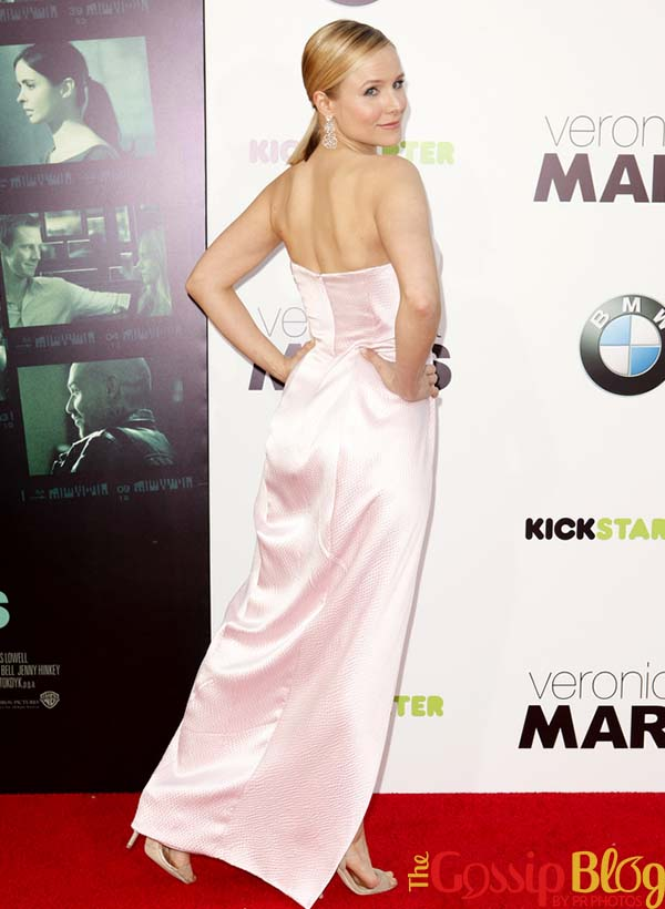 Kristen Bell at 'Veronica Mars' Los Angeles Premiere