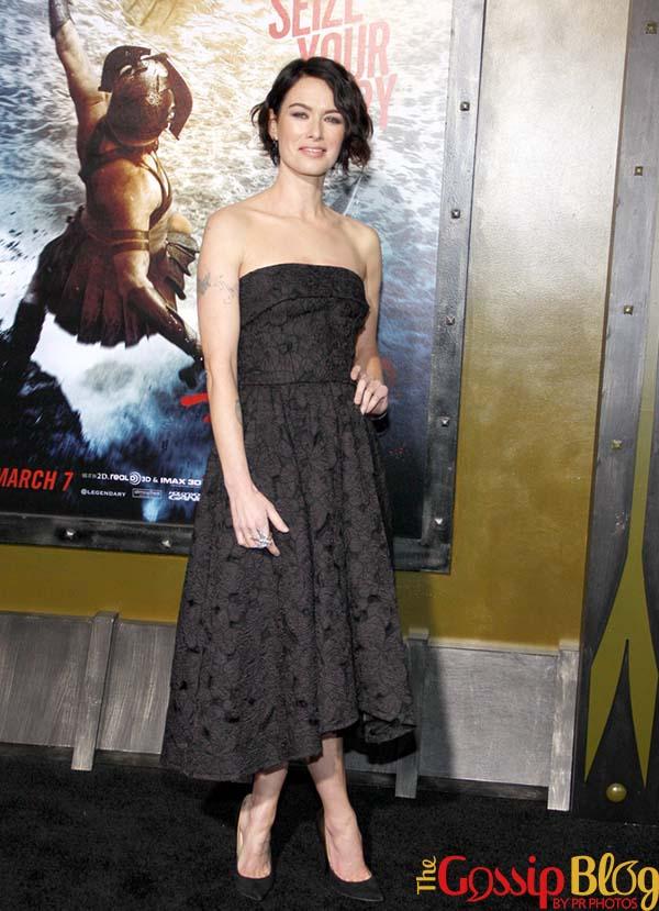 Lena Headey  Rise of an Empire Los Angeles Premiere