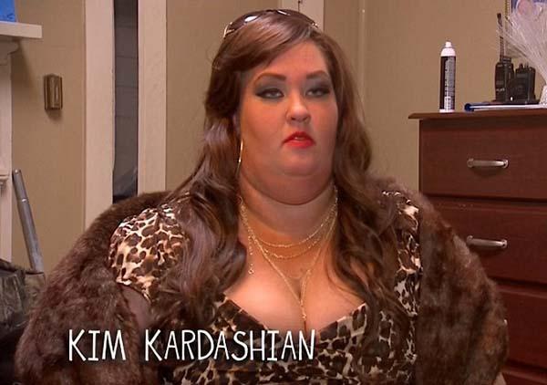 Mama June, Kim Kardashian