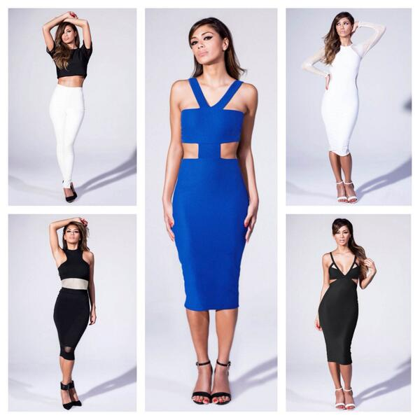 Nicole Missguided collection looks photo