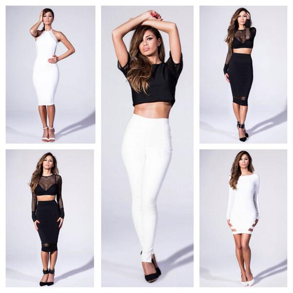 Nicole Missguided collection looks