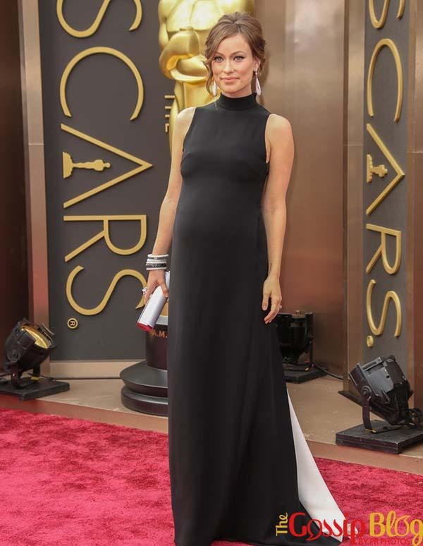 Olivia Wilde 2014 Oscars