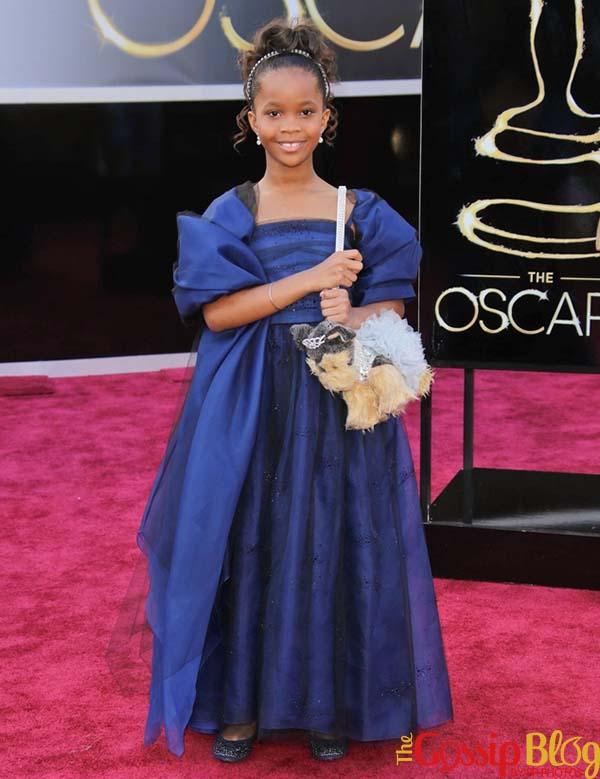 Quvenzhane Wallis at 2013 Oscars