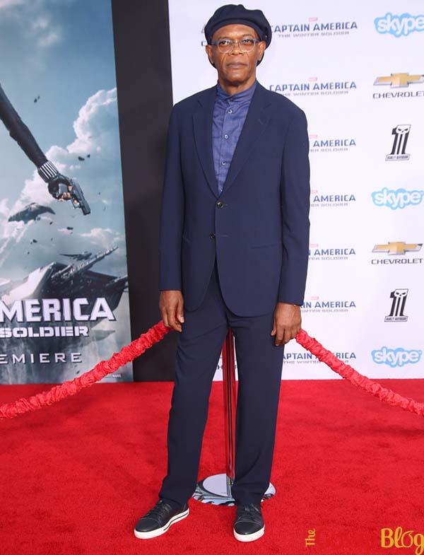 Samuel L Jackson 'Captain America The Winter Soldier' Los Angeles Premiere