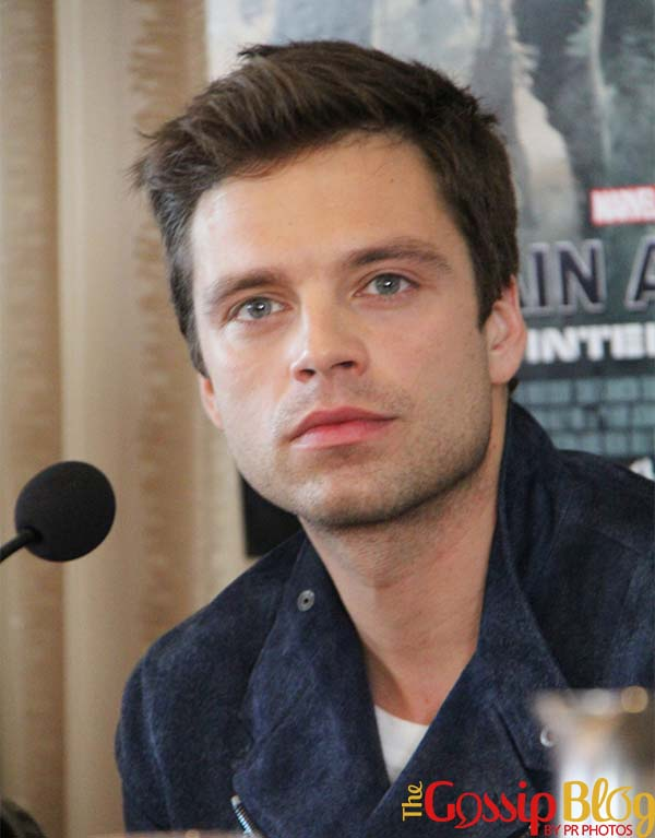 Sebastian Stan 'Captain America The Winter Soldier' Beverly Hills Press Conference