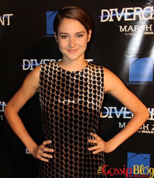 Shailene Woodley Divergent Chicago Premiere