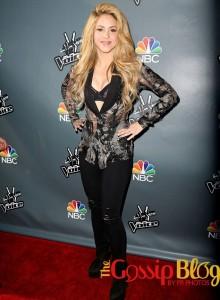 Shakira sexy outfit
