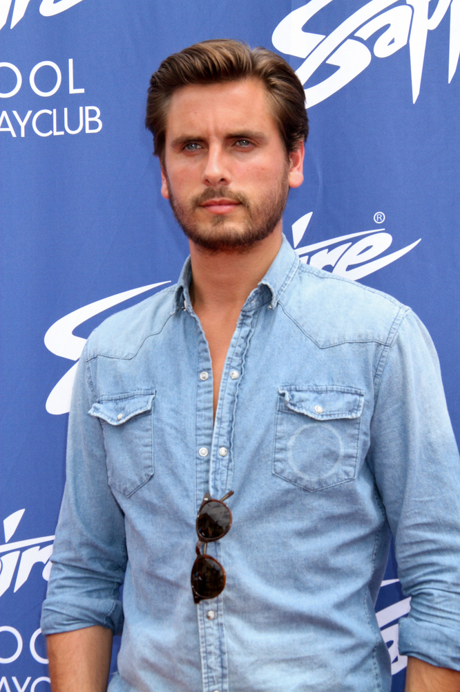 "Scott Disick Hosts ""Hamptons in the Desert"" Party at Sapphire Pool and Day Club in Las Vegas on July 6, 2013"