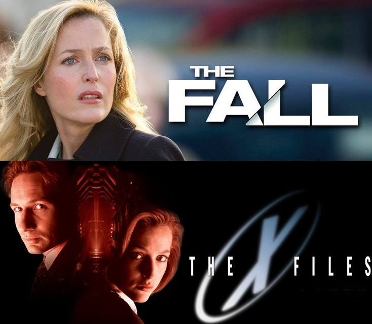 the fall tv series vs the x-files tv series
