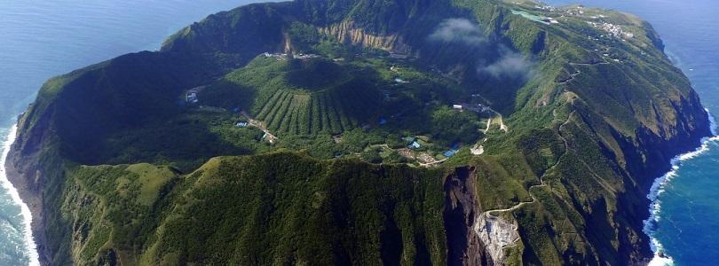 Aogashima, Tropical Island, Japans