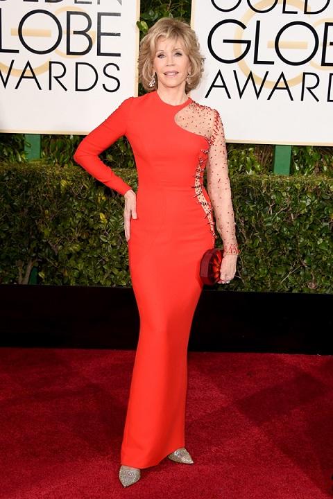 Jane Fonda dresses