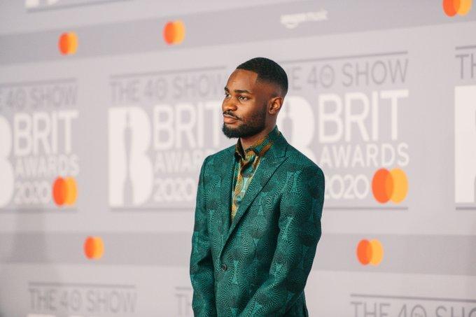 London rapper Dave at BRIT-Award-2020