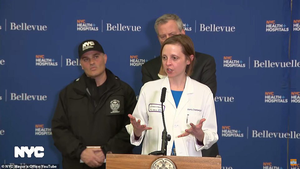 health officials from NYC talking about Coronavirus in New York City
