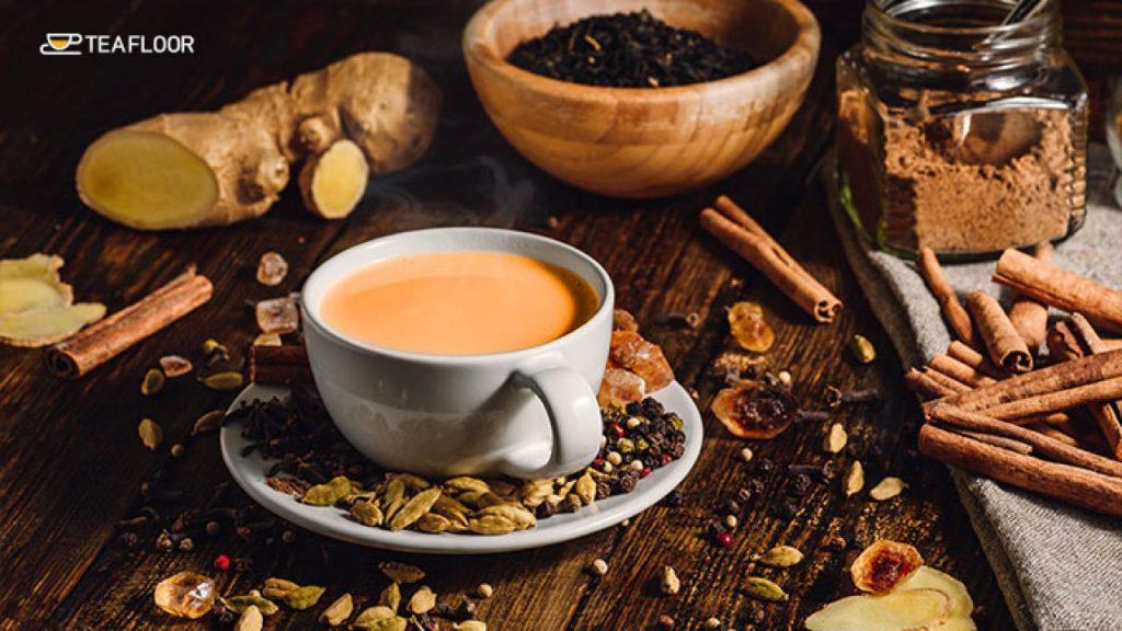 Padma-Lakshmi-takes-Masala-Chai-tea