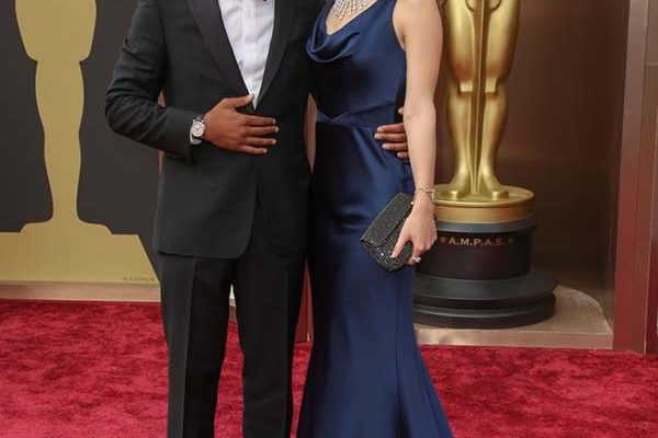 Chiwetel Ejiofor, Sari Mercer, 2014 Academy Awards