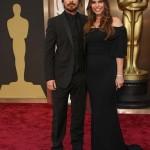 Christian Bale, Sibi Blazic, 2014 Academy Awards