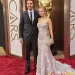 Dax Shepard, Kristen Bell , 2014 Academy Awards