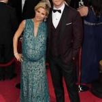 Elsa Pataky, Chris Hemsworth, 2014 Academy Awards