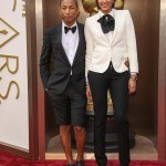 Pharrell Williams, Helen Lasichanh, 2014 Academy Awards