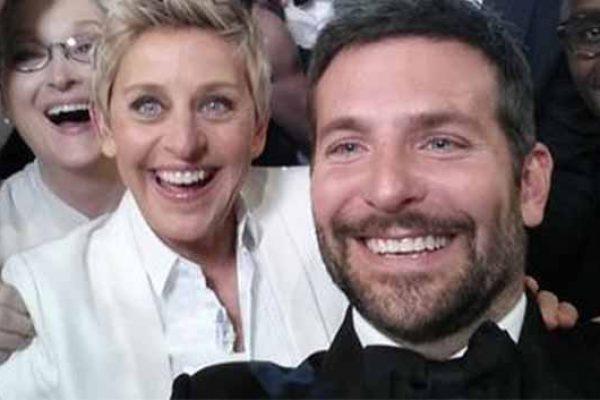 Ellen DeGeneres, 2014 Oscars