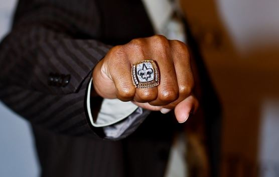 Football Stars and their Superbowl Rings