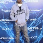 Pharrell Williams photos from The Amazing Spider Man 2 in New York City