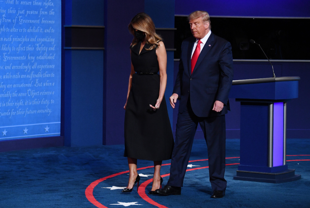 Melania is counting to divorce Trump as he leaves the Whitehouse